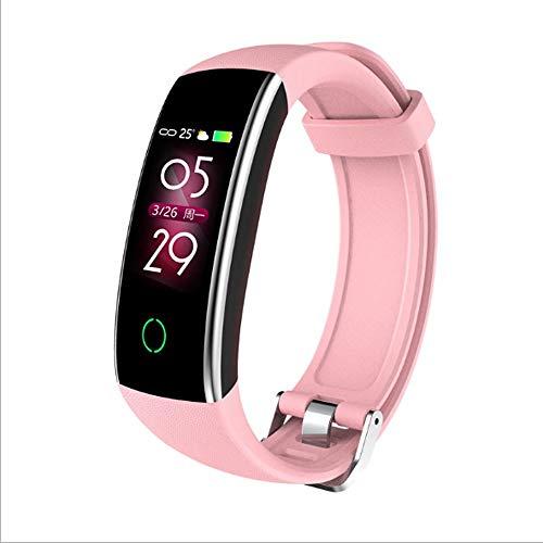 HUOQILIN La Nuova Smart Colore Braccialetto frequenza cardiaca Monitor di Movimento contapassi...