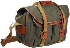Billingham 335 - Bolsa de FibreNyte para cámara, color Verde (Sage Fibernyte/Tan)