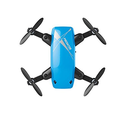 Prixton Drone DR200Selfie Predator, Fotocamera Wi-Fi, Blu