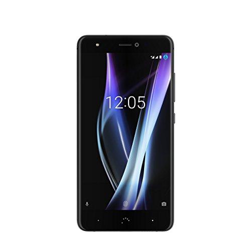 """BQ Aquaris X Pro - Smartphone de 5.2"""" (4G, WiFi, Bluetooth 4.2, Qualcomm Snapdragon 626 Octa Core 2.2 GHz, 128 GB de Memoria Interna, 4 GB de RAM, cámara de 12 MP, Android 7.1.1 Nougat) Negro"""
