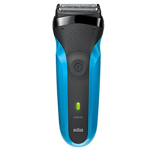 Braun Series 3 310s Rechargeable Wet&Dry Electric Shaver, Blue