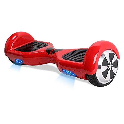 Windgoo Hover board Elettrico Bambini Hover board 6.5 Pollici con LED, Balance Scooter con...