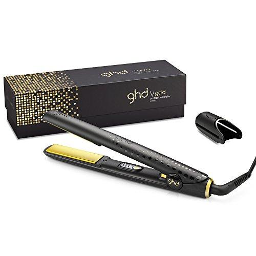 GHD V Gold Professional Classic Styler - Plancha para el pelo, color negro