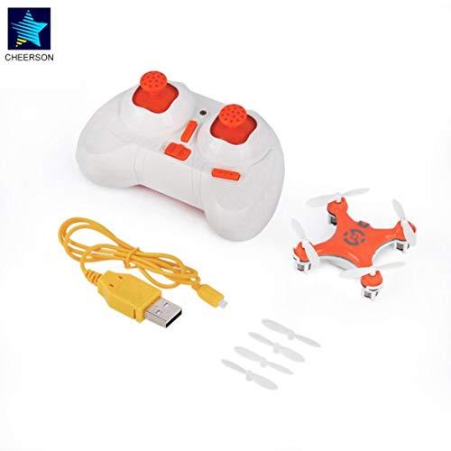 Kongqiabona Mini RC Quadcopter RC Quadricottero 4CH 2.4GHz modalità Headless Drone Orange per...