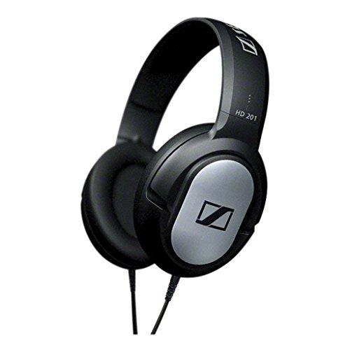 Sennheiser HD 201 Cuffie Circumaurale Dinamica Over-Ear Stereo, Modello Chiuso, Nera con rifiniture...