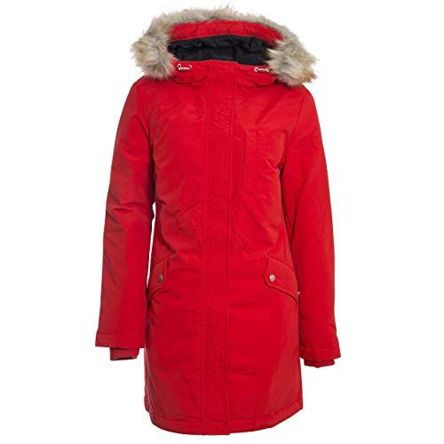 Tommy Hilfiger Tjw Technical Down Parka Giacca, Rosso (Red Xa8), Large Donna