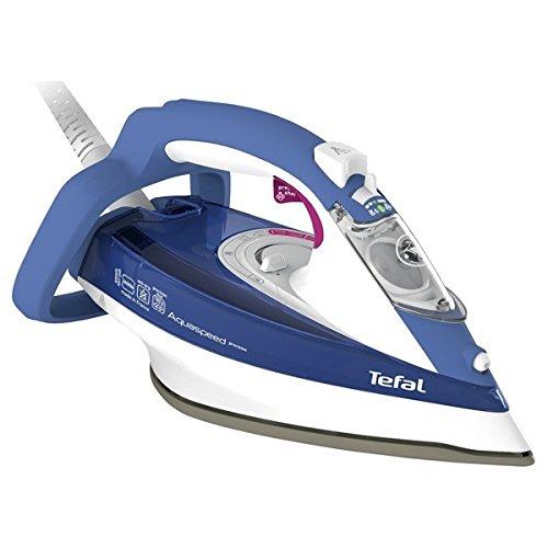 Tefal Aquaspeed Precision FV5540 Ferro a vapore 2600W Blu