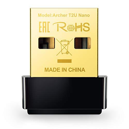 Archer T2U Nano Adattatore USB Scheda di Rete, Wireless Dual-Band 600Mbps, Nano Size, non occorre...