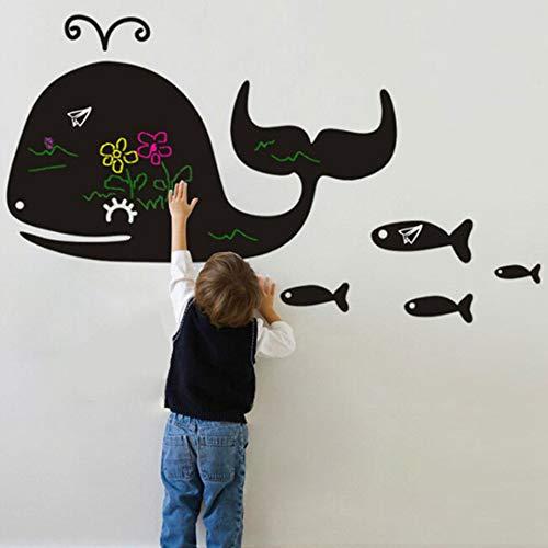 ELGDX Cute Cartoon Animal Forma Chalk Board Lavagna Adesivi Rimovibile Disegnare Decor Murale di...