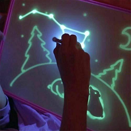 Writing Board Con Light,Tianya🌟 A5 Lavagna Luminosa Per Bambini Compressa Fluorescente...