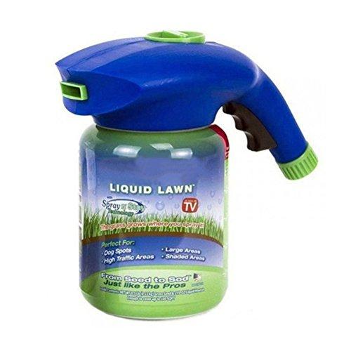 Balai Gras-Wachstums-Garten-Sprüher-Flasche - Rasensaat-Saatgut-Sprühgerät Hydro-Mousse, das Gras wächst, wo Sie sprühen (nur eine Sprayer-Flasche)