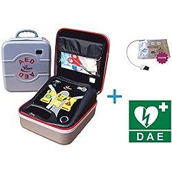Defibrillatore Semiautomatico Life-POINT Pro AED - Piastre Adulti e Pediatriche Incluse e Cartello DAE