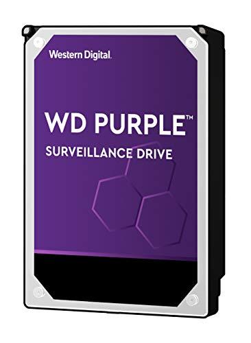 WD Purple Intellipower Hard Disk Drive per Videosorveglianza da 1 TB, 3.5', SATA 6 Gb/s, Cache 64 GB, 5400 RPM