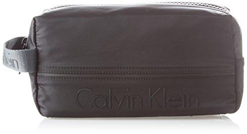 Calvin Klein - Matthew 2.0 Washbag, Organizadores de bolso Hombre, Negro (Black), 13x16x28 cm (B x H T)