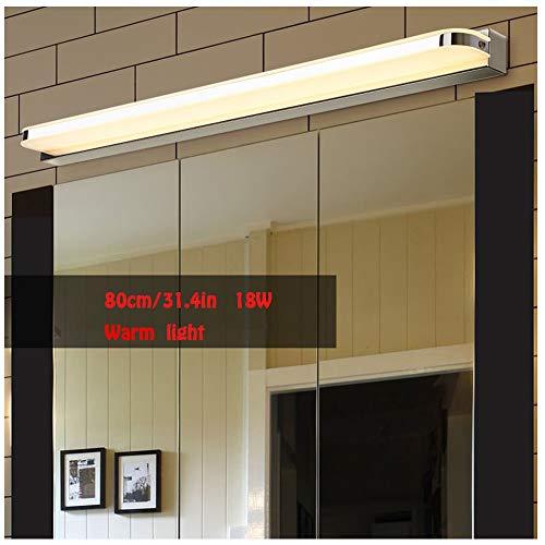 WMGVG Lampada da Specchio A LED per Bagno, Lampada Armadio Applique da Parete Lampada Specchio...