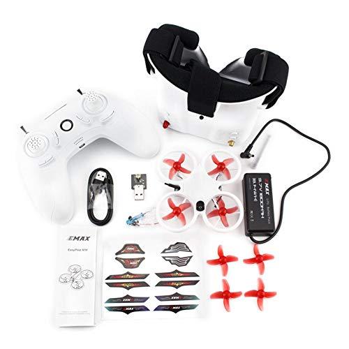 Rikey Emax Tinyhawk RTF - Drone a Quattro Assi 6 canali Quadcopter Drone da Corsa all'aperto per Interni con Occhiali FPV e Controller