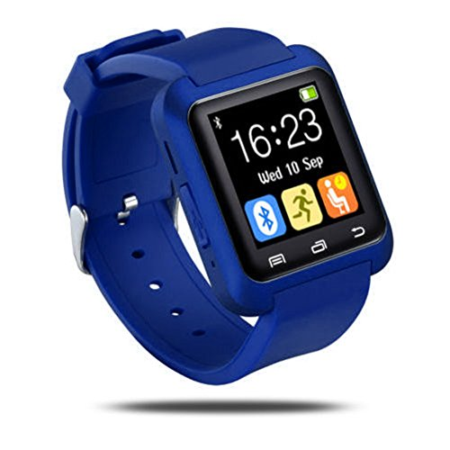 FAVOLOOK U8 Bluetooth Smart Watch fitness tracker bracciale con lettore musicale pedometro...
