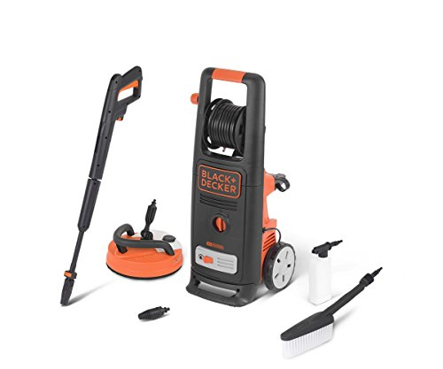 Black+Decker BXPW2000PE Idropulitrice ad Alta Pressione (2000 W, 140 bar, 440 l/h) con Patio Cleaner...