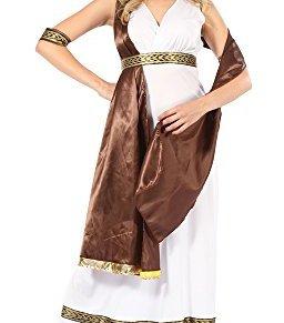 Bristol Novelty ac726diosa con disfraz de Sash, color marrón, tamaño 10–14