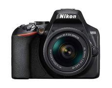 Nikon D3500 - Cámara réflex de 24 MP (Full HD, ISO de 100-25600, Sistema de autofoco, Modo guía, LCD, SnapBridge) - Kit con Objetivo AF-P 18/55VR, Estuche y Libro - Versión Nikonistas