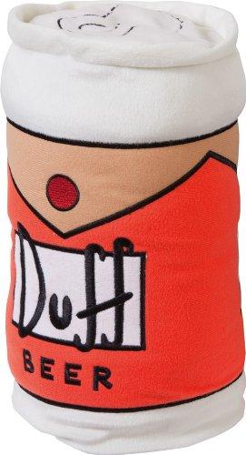 United Labels - Cojín lata de cerveza Duff de los Simpsons