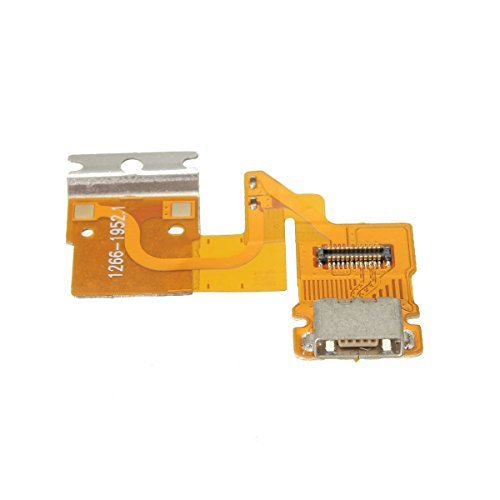 Games&Tech USB Charging Dock Port Flex Cable Connector For Sony Xperia Tablet Z 3G SGP341 SGP311 SGP312 SGP321 SGP351