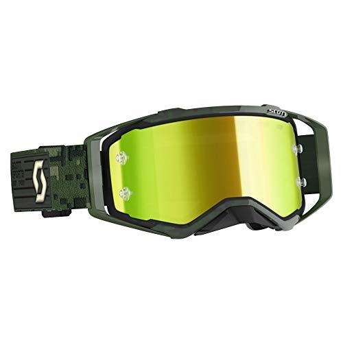 Scott Maschera Prospect con Lente a Specchio Verde Militare 2020 (Maschere)