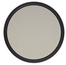Heliopan 580781058 - Filtro polarizador (circular, HT SH-PMC, 58 mm), negro