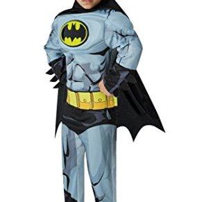 Disfraz de Batman oficial de la marca Rubie's - Talla mediana, de 5 a 6 años