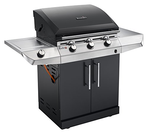 The Char-Broil Performance Series T36G5 B gas grill stands out of the crowd due to its TRU-infrared cooking system. It even has individual temperature gauges for each of its three burners, allowing you to fully customise your cooking. Other additions such as side shelf, warming rack, and side burner are incredibly handy too. The burners and grates materials are long-lasting, whilst the grill can be protected by T36G grill cover to increase durability. The cost of this model might be the only negative thing but it's seriously worth the money.