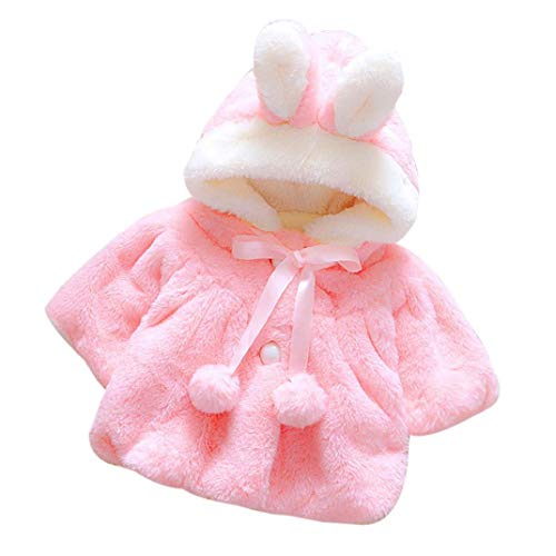 bec07b213 Iuhan Baby Infant Girls Autumn Winter Hooded Coat Cloak Jacket Thick Warm  Clothes - GiftingTrends