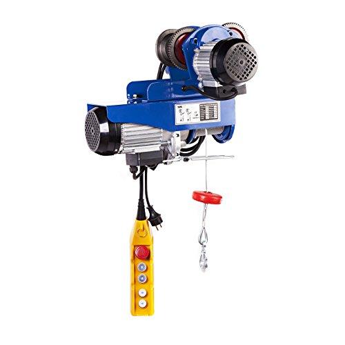 MSW Motor Technics - PROCAT 800 - Polipasto de cadena - 800 kg - 1.300 W - Envío Gratuito