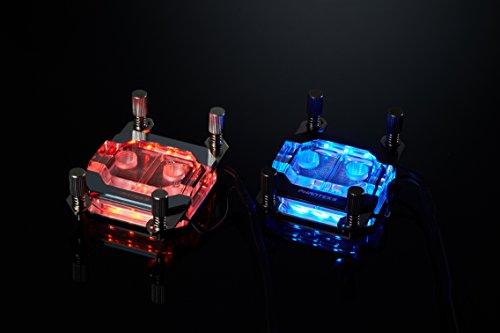 Phanteks Waterblock CPU pour LED RVB Base en cuivre nickelé Acrylique Coque Chrome-Ph-c350a Cr01 28