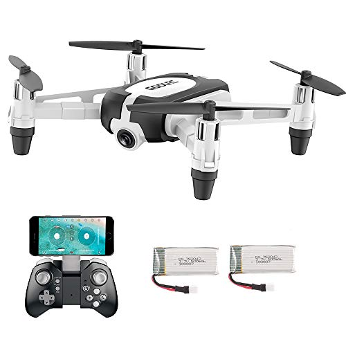 GoolRC T700 Drone 720P WiFi FPV Mini Selfie Droni G-Sensor Altitude Hold RC Training Quadcopter w / 2 Batteria per Principianti Bambini