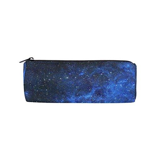 Ahomy Galaxy Stars Space Starry Universe Night Sky - Astuccio per penne, matite, cancelleria,...