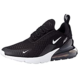 Nike Air Max 270, Chaussures de Running Homme, Multicolore (Black/Anthracite/White/Solar Red 002), 43 EU