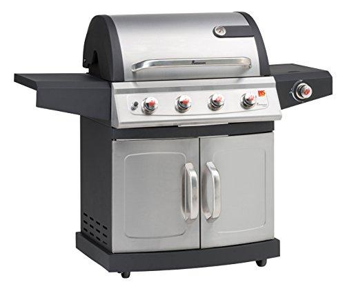 Landmann 12660 Barbecue Gaz Miton Inox PTS 4+1 Bruleurs