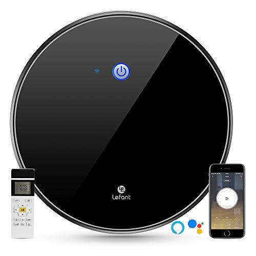 Aspirapolvere Robot, aspirazione 1800Pa, controllo WiFi, funziona con Alexa e Google, mappatura...