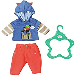 Zapf Baby Born Boy Outfit 2 Assorted Juego de ropita para muñeca - Accesorios para muñecas (Juego de ropita para muñeca, 3 año(s),, Baby Born, 43 cm, Niño)
