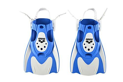 Arena Powerfin Fit Pinna, Unisex adulto, Bianco (White-Blue), M
