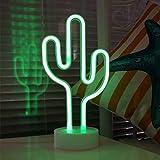 Lampara de Cactus LED Decorativa Para Escritorio