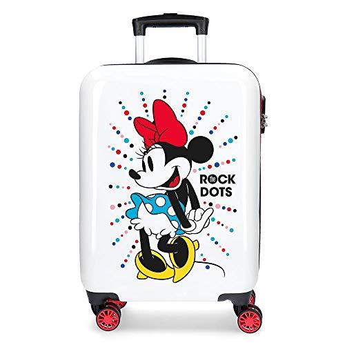 Disney Magic Valigia per bambini, 55 cm, 33 liters, Bianco (Blanco)