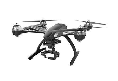Yuneec Typhoon Q500+ Drone con Macchina 4K Versione Completa, Bianco/Nero