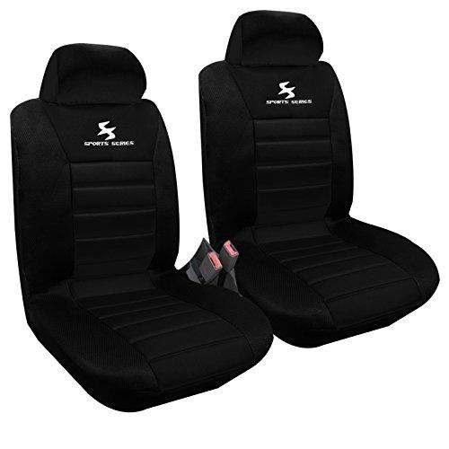 WOLTU AS7254-2 Set Coprisedili Anteriori Auto 2 Posti Seat Cover Protezioni Universali per Macchina...