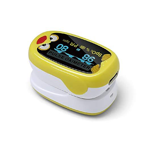 Oxidb Cordone per ossimetro per Bambini Health & Household Fingertip Pulse Blood Saturation Monitor...