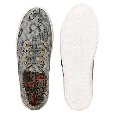 Red Rose Men's Grey Sneaker Shoes 5