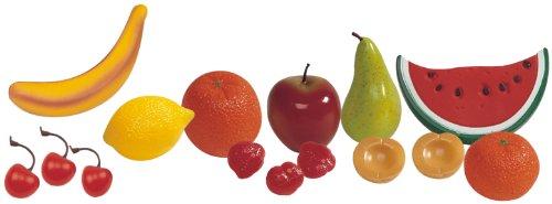 Miniland 30581 - Bolsa de 15 piezas de fruta [Importado de Alemania]