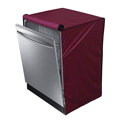 Dream Care Waterproof Dishwasher Cover For IFB Neptune VX Fully Electronic 12 Place Settings Dishwasher-Maroon