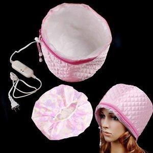 SLB Works Brand New Hair Care SPA Cap Beauty Steamer Hair Thermal Treatment Nourishing Hat +Bath Cap
