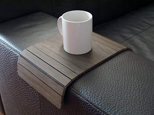 Piccolo tavolino laterale da bracciolo divano in molti colori come wenge Tavolini lato poltrona in legno Tavolo salvaspazio pieghevole per salotto moderno design